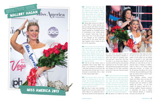 Interview with Mallory Hagan--Miss America 2013