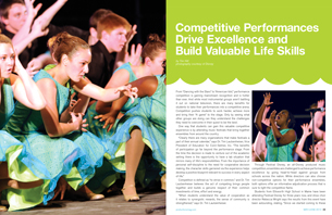 Competitive Performances Drive Excellence and Build Valuable Life Skills