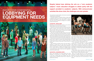"""(Show) Choir Confidential: Lobbying for Equipment Needs (from """"Best Of"""" Buyer's Guide 2014)"""