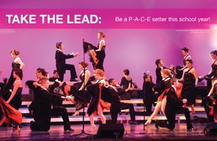 Take the Lead: Be a P-A-C-E setter this school year!