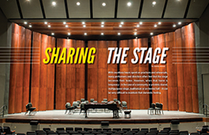 Sharing the Stage