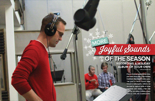More Joyful Sounds of the Season: Recording a Holiday Album of Your Own